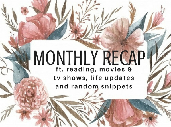 JANUARY RECAP // school, overwhelming stress but back on the reading game