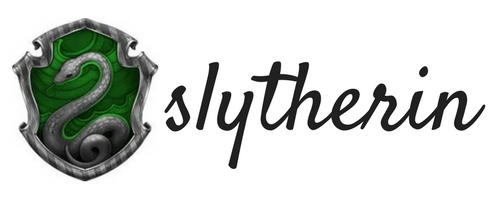 hogwarts house reads slytherin