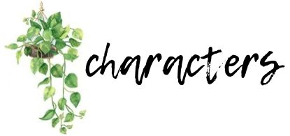 Characters review graphics
